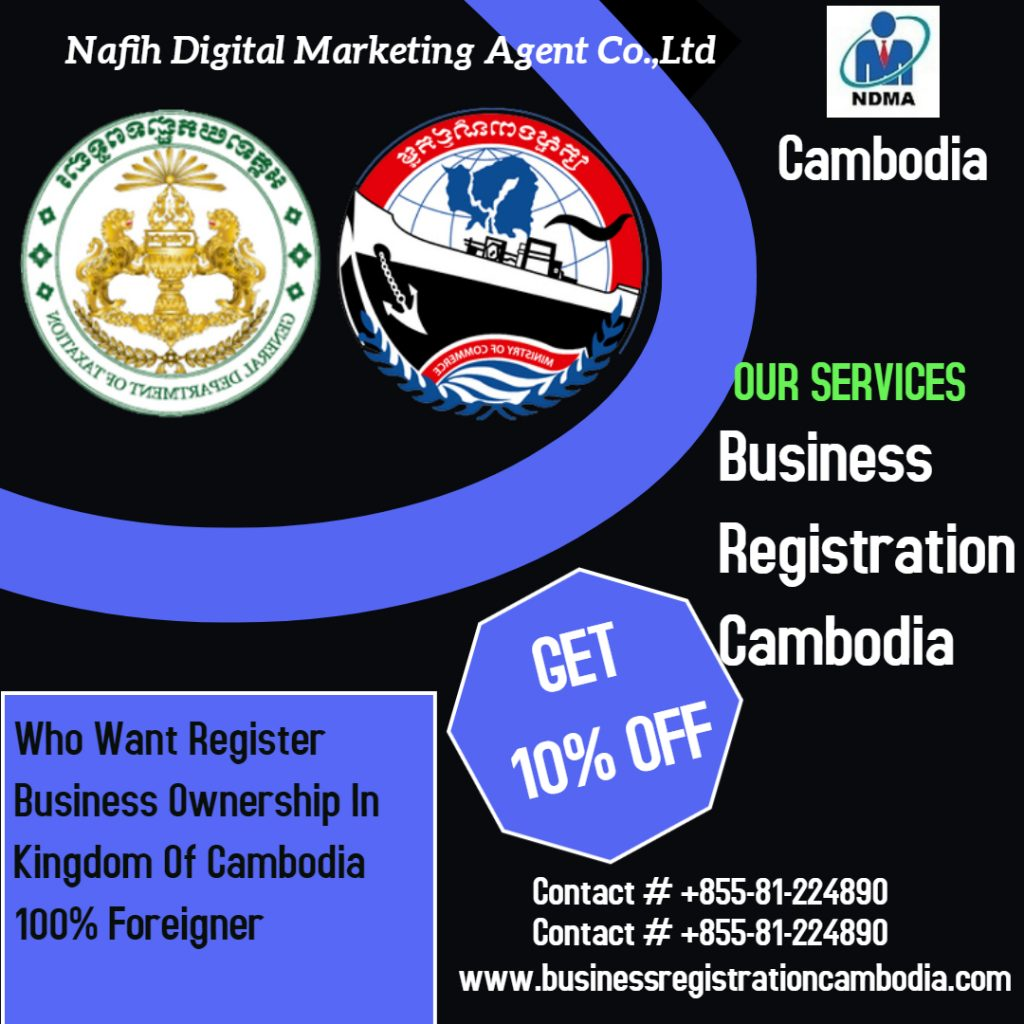 Business Registration Services in Cambodia 2020