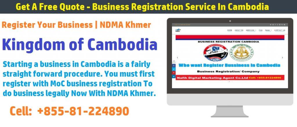 company registration fee in cambodia 2020